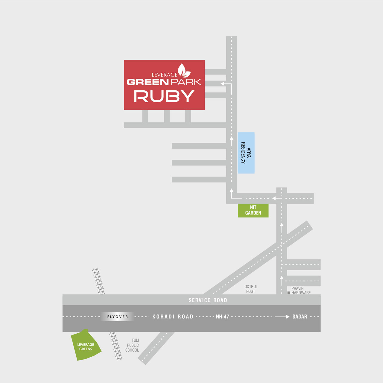 leverage-green-park-ruby-location-map